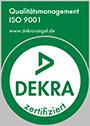 DEKRA zertifiziert - Qualitätsmanagement ISO 9001